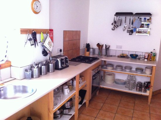 Slochd Mhor Lodge : kitchen