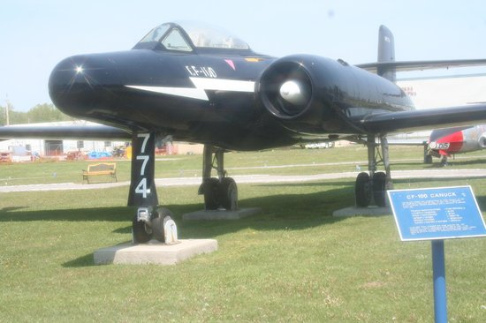National Air Force Museum of Canada : Avro CF-100 in first prototype markings