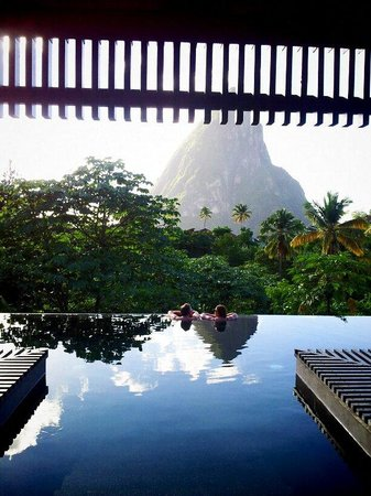 Boucan by Hotel Chocolat: View from the Hotel's Infinity Pool