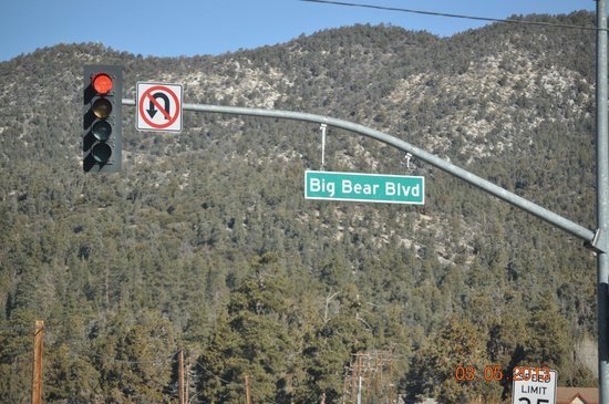 Bear Mountain: Street Sign