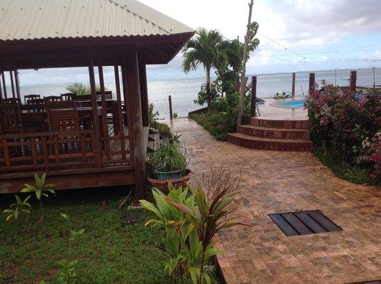 Petit Hotel Familial Fare Vai Nui : Un bien sympathique endroit.