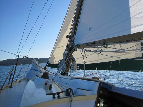 Northwest Classic Daysailing: About 5 knots on Puget Sound