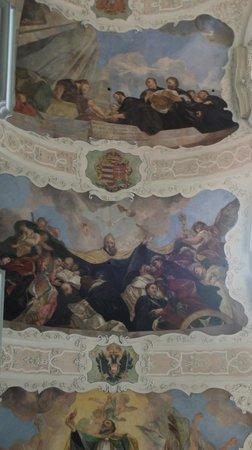 St. Thomas Church : fresco