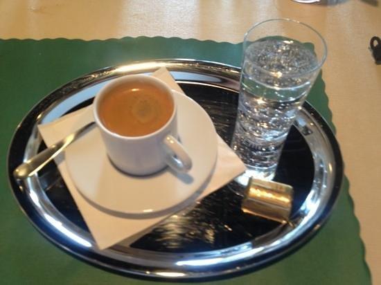Alpine Restaurant: best expresso in a while
