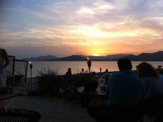 Experimental Beach at Cap D'es Falco : Tramonto