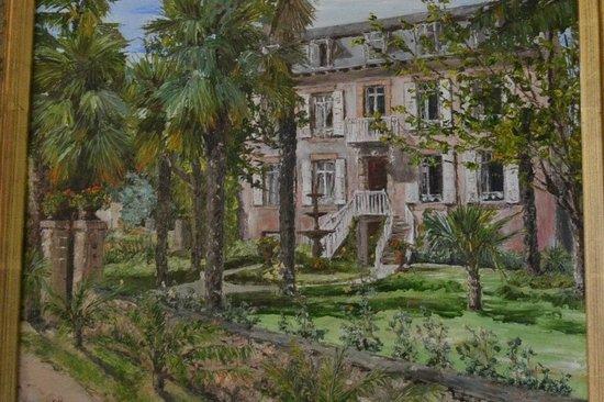 Domaine de Moulin Mer : tableau de la maison