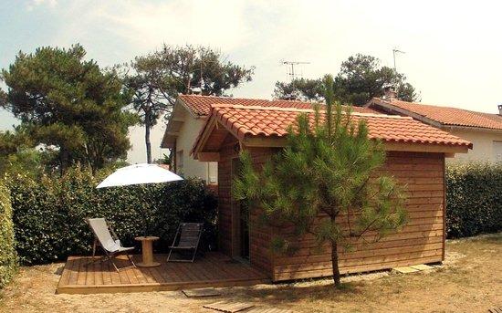 Villa Tiki / Vieux-Boucau Surflodge: cabane chambre 2/3 personnes