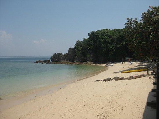 Main beach at Gem Island Resort & Spa