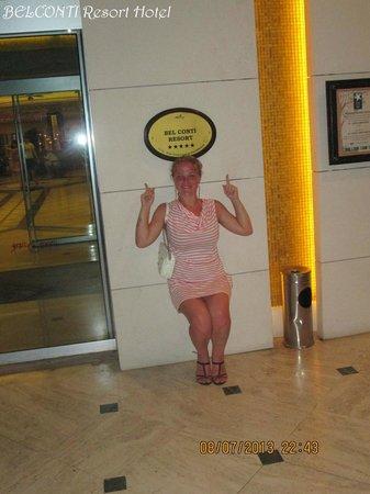 Belconti Resort Hotel: Hotel