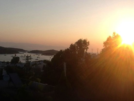 Panorama Hotel Bodrum: Sunrise from the Family Room!