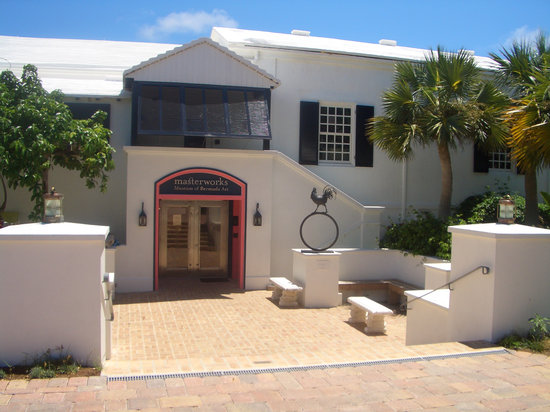 The Masterworks Museum of Bermuda Art : Front Entrance