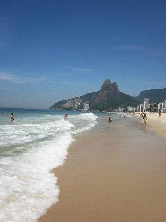Mar Ipanema Hotel: Ipanema Beach within two blocks of hotel