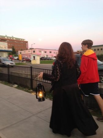 Queen City Ghostwalk: wicked waterfront tour