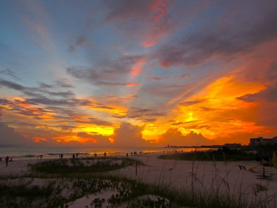 Hyatt Residence Club Sarasota, Siesta Key Beach: Sunset from the beach