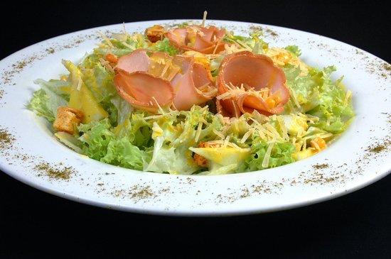 La Pizzeria : Ensalada de Pavo con Manzana