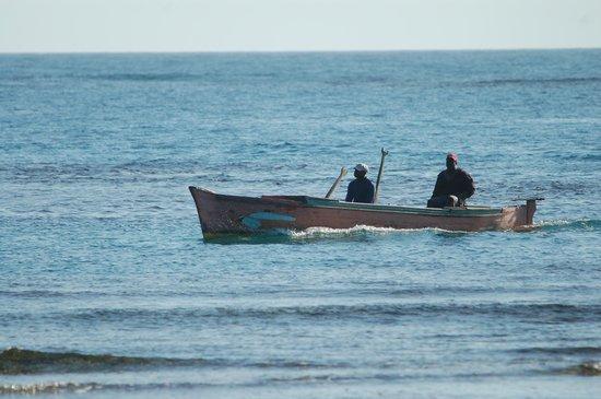 Cayos Cochinos, Honduras: Fisherman