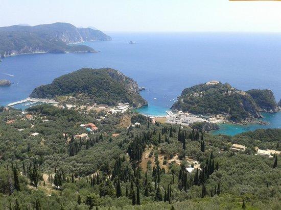 View straight ahead from The Bella Vista Taverna