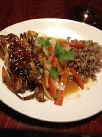 Aroma Thyme Bistro: Three out of the four meals was this