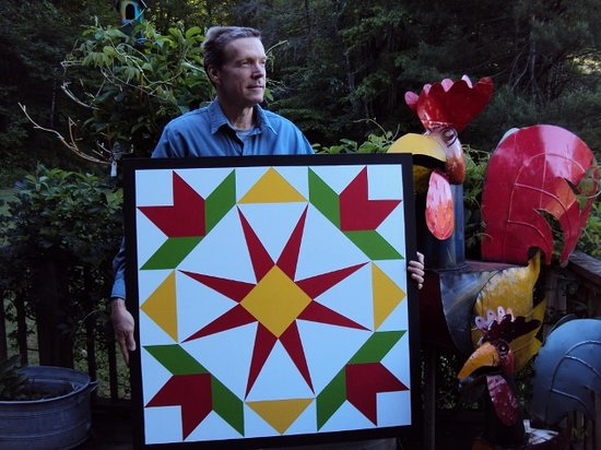 Slick Rock Country Emporium: A finished barn quilt