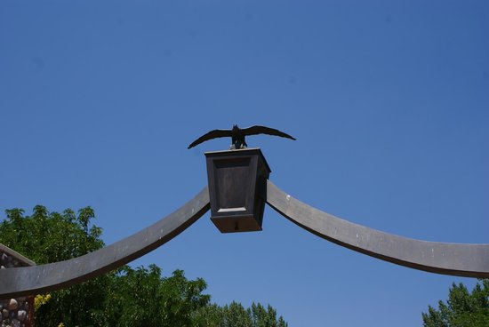 This is the Place Heritage Park: Replica of Eagle Gate