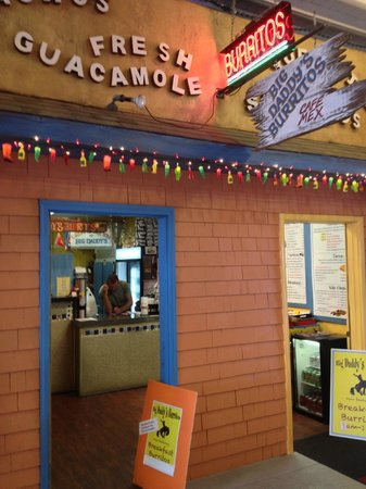 Big Daddy's Burritos: Outside looking in. You won't be disappointed.
