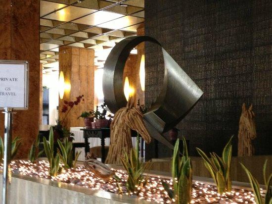 President Hotel : Hall d'accueil
