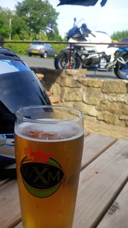 Tyn y Capel Inn & Restaurant: .. and another Wrexham Lager