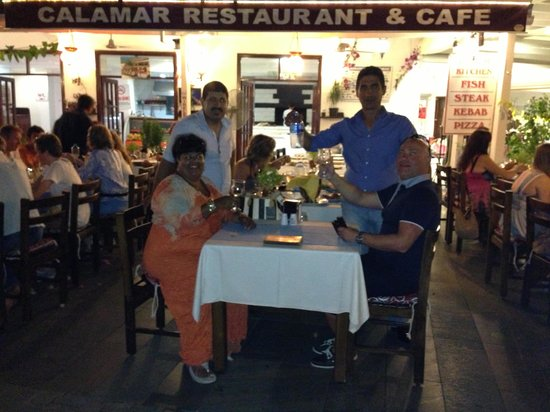 Calamar Restaurant : Calamari kas