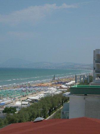 Hotel Europa : panorama dalla stanza 402