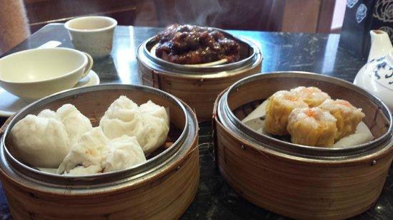 Stack Dim Sum Bar: Char Siu Bau, Sui Mai and Chicken's Feet