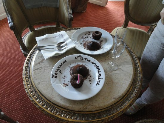 Grand Hotel Moderne : The cake !