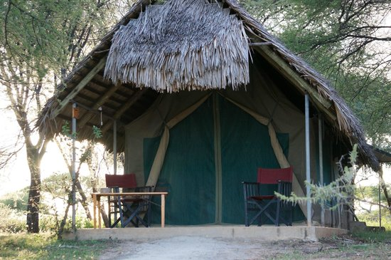 Tarangire Safari Lodge: A typical tent/room