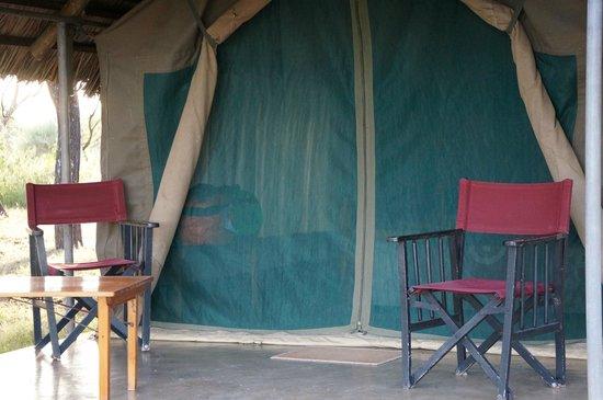 Tarangire Safari Lodge : Porch of the tent