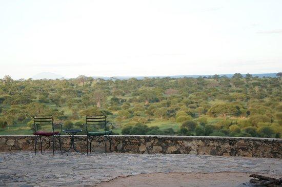 Tarangire Safari Lodge : Incredible view from the main house