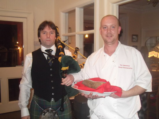 The Old Rectory Inn: Tae the Haggis