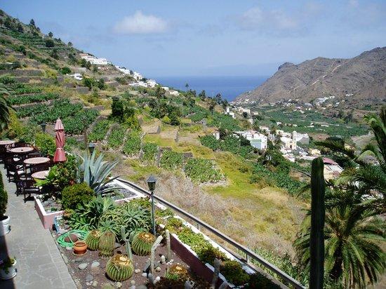 Ibo Alfaro Hotel Rural: uitzicht vanuit onze kamer
