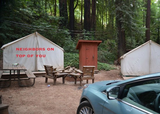 Fernwood Resort No privacy or quiet at all & No privacy or quiet at all - Picture of Fernwood Resort Big Sur ...