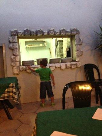 Ristorante Carpe Diem : the pizza oven