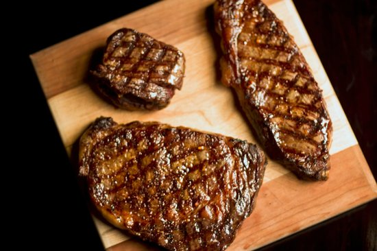Sims Corner Steakhouse & Oyster Bar : Beef