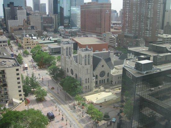 City View From Room Picture Of Hyatt Regency Minneapolis