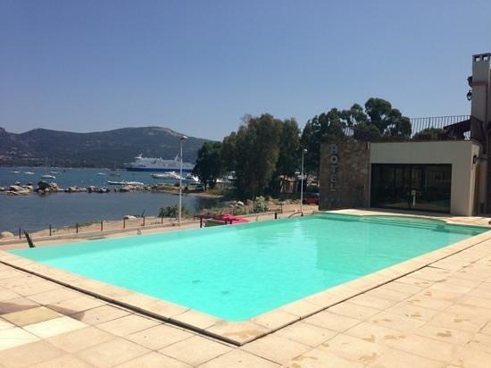 Hotel Shegara : pool area