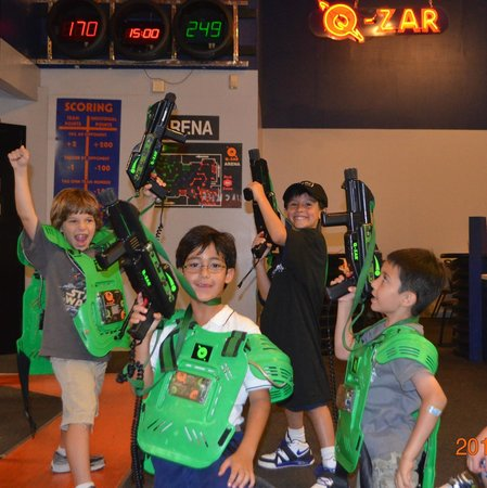 Q-Zar Tampa : Green Team Won