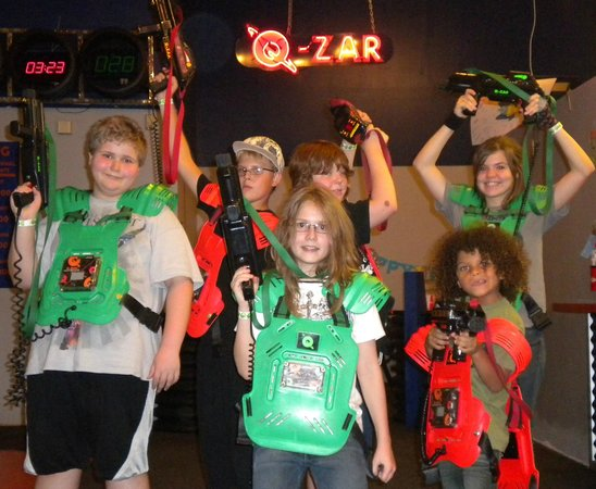 Q-Zar Tampa : Fun with friends at q-zar