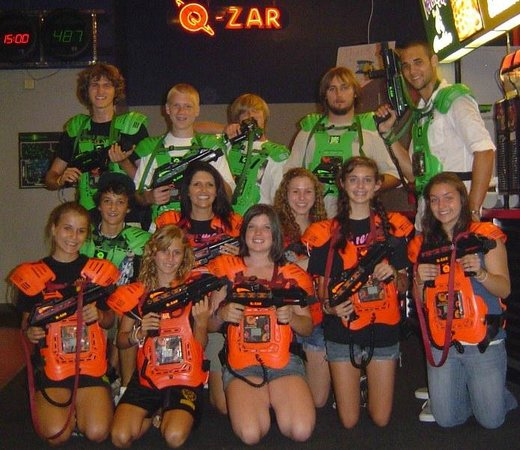Q-Zar Tampa: Group events