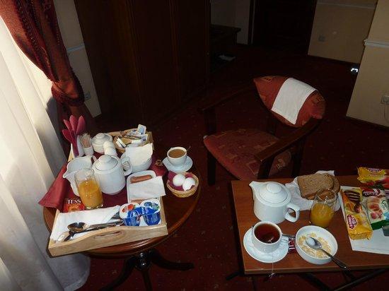 Art-Hotel Mokhovaya : завтрак