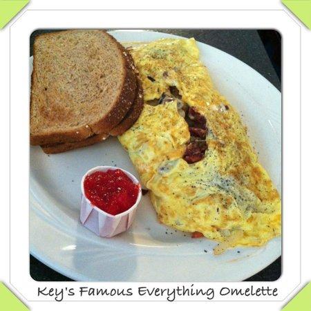 Keys Cafe - Nicollet Avenue: Omelette