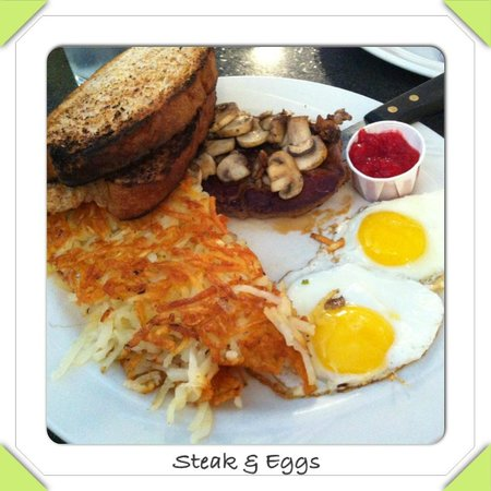 Keys Cafe - Nicollet Avenue: Steak & Eggs