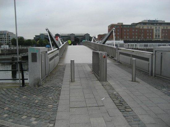 Sean O'Casey Bridge: South Side Entrance