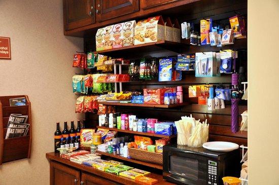 Hampton Inn & Suites West Little Rock: 24 Hour Suite Shop with ATM