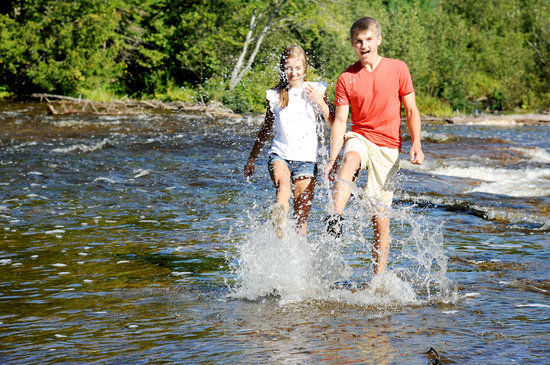 Sault Ste. Marie, MI: Summer fun at Lower Tahquamenon Falls